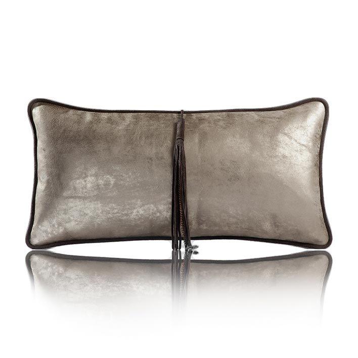 Cuscini 30x60.Cushion Antique Matte Golden Grey 30x60 Cuscini Casette