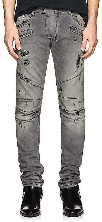 0250534ce53c39 Pierre Balmain Skinny Biker Jeans | Products | Skinny biker jeans ...