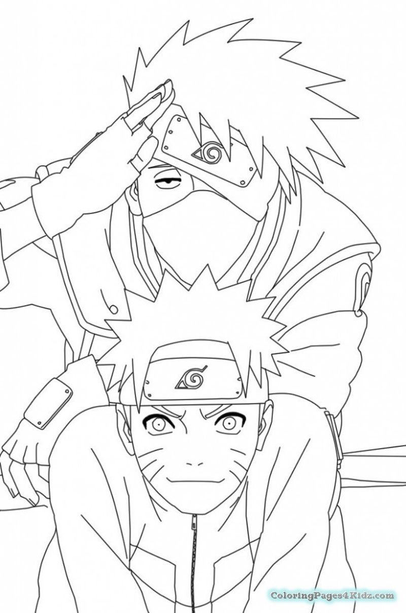 Have Fun With These Naruto Coloring Pages Ideas Cartoon Coloring Pages Naruto Drawings Naruto Sketch