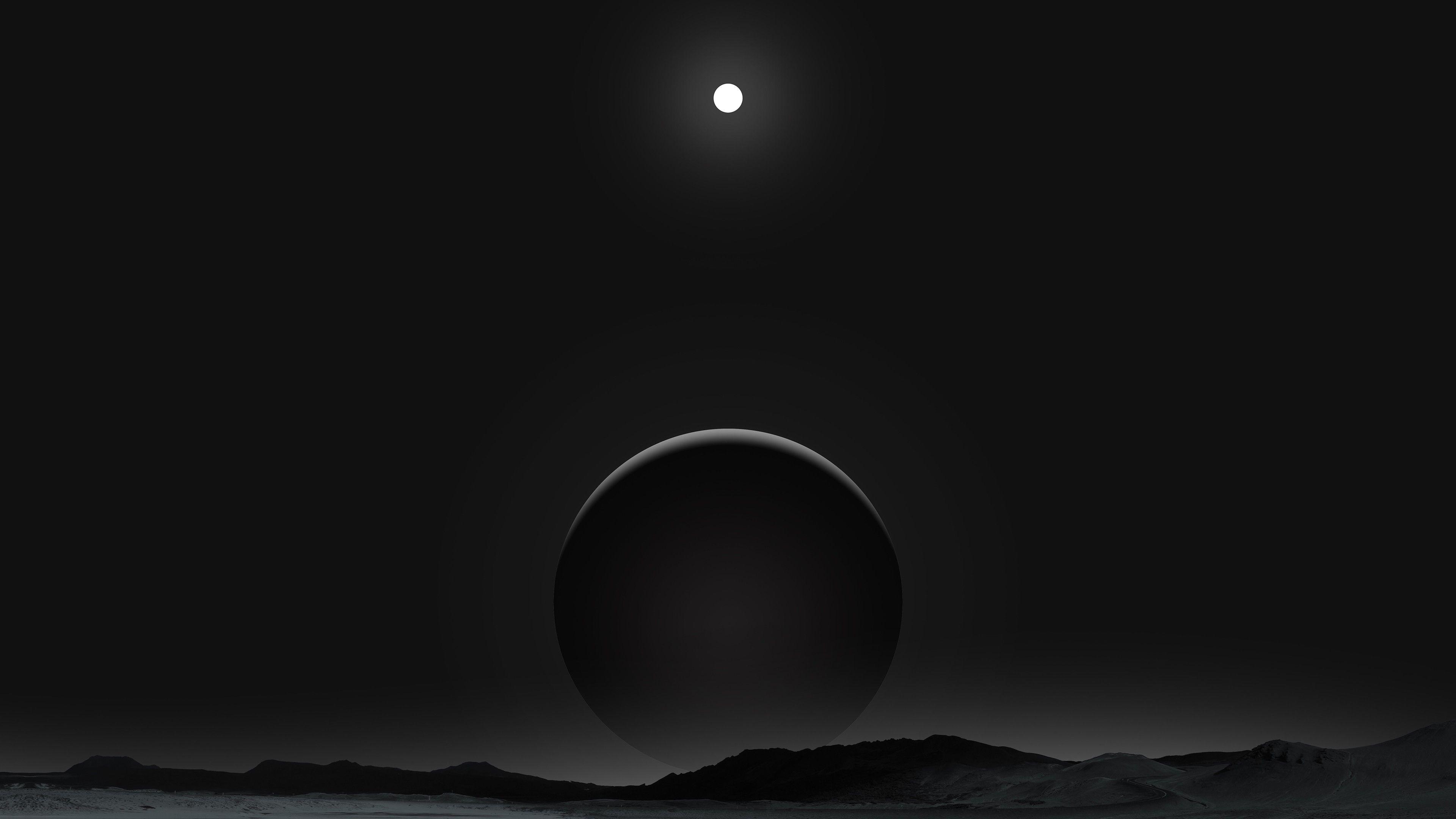 Planet Black Gray Wallpaper No 289603 Dark Wallpaper Hd Wallpaper Art Wallpaper
