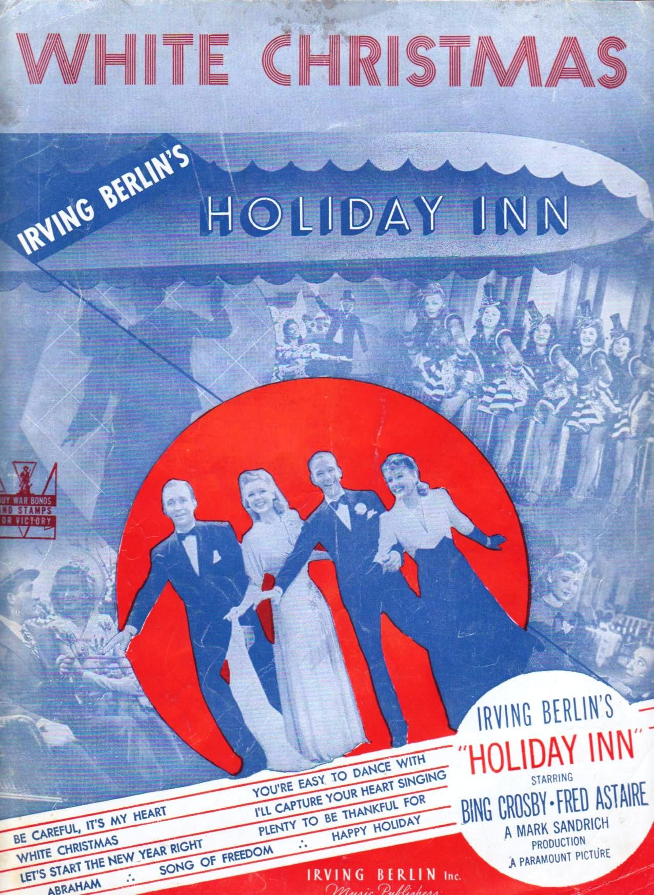 White Christmas Holiday Inn is one of my favorite Christmas movies ...