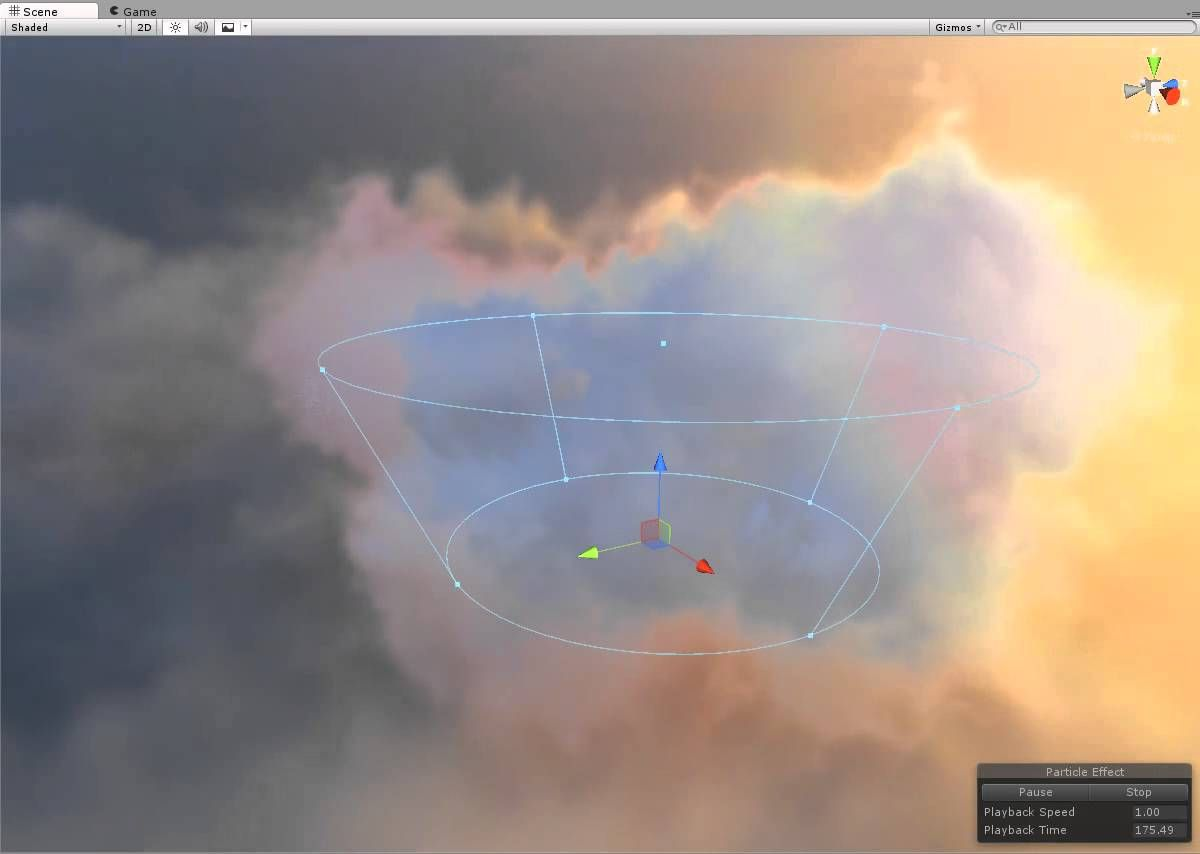 Unity Custom Cloud shaders    | 3d ideas | Clouds, Concept art, Lighting