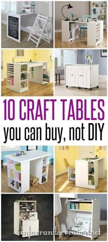 Craft Room Ideas The Best Tables That You Dont Have To DIY StorageArts
