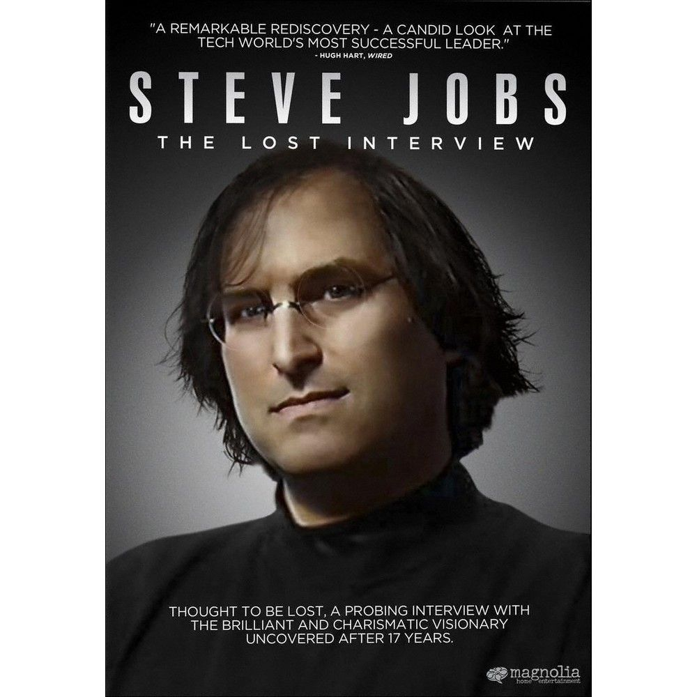 Steve Jobs: The Lost Interview (dvd_video)