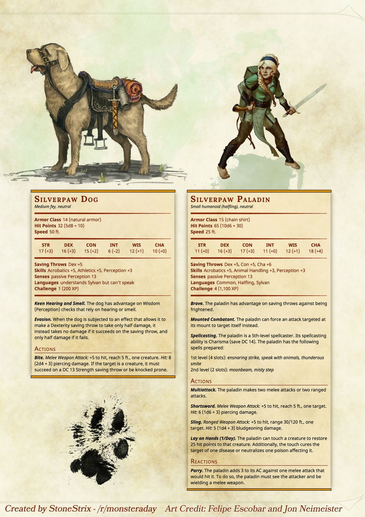Silverpaw Paladin And Dog Dungeons And Dragons Characters D D Dungeons And Dragons Dungeons And Dragons Homebrew September 14, 2019 by admin leave a comment. pinterest