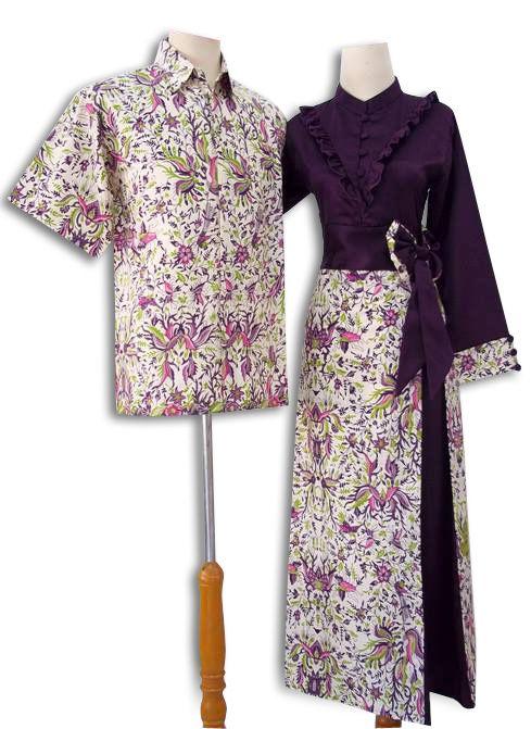 Gamis Batik Sarimbit Keluarga Batik Sarimbit Terbaru Sarimbit