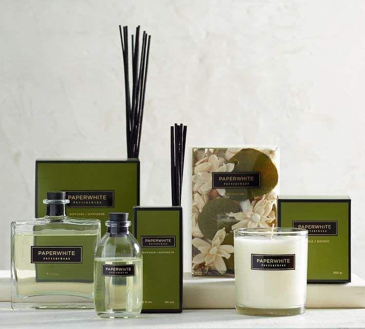 Signature Homescent Collection Paperwhite Glass Oil