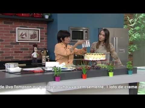 Bolo supremo de frutas por Maria do Socorro - 01/04/2017 - Mulher.com P2 - YouTube