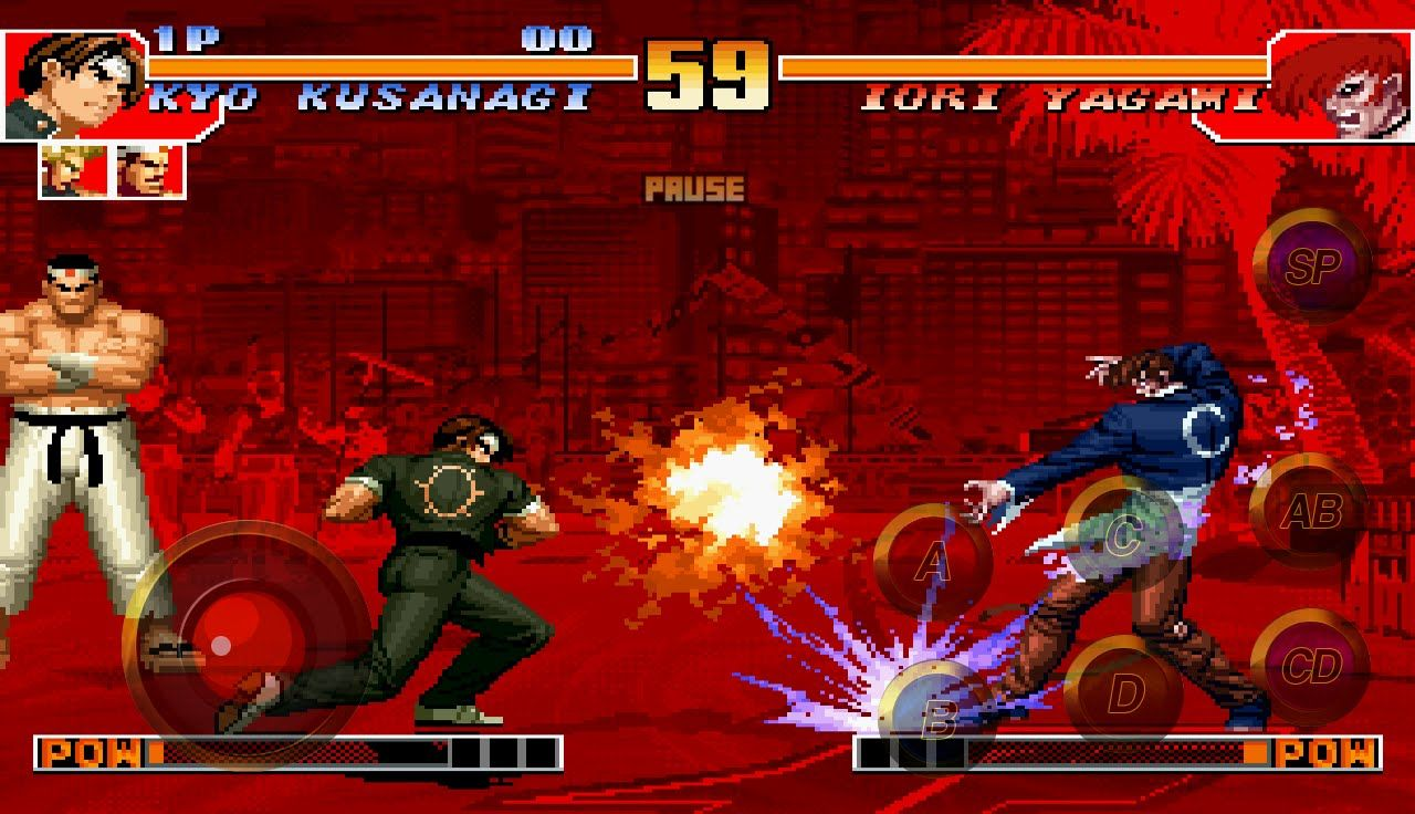 Juego THE KING OF FIGHTERS '97 - Para Android