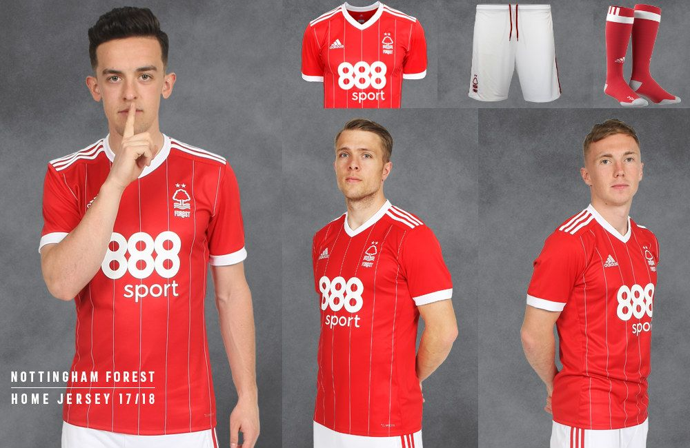 e7b7788cf1d Nottingham Forest 17 18 Adidas Home Kit
