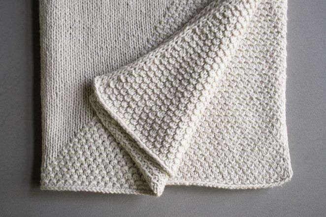 8 Super Cute Knit Baby Blanket Patterns Crib Blanket Purl Soho