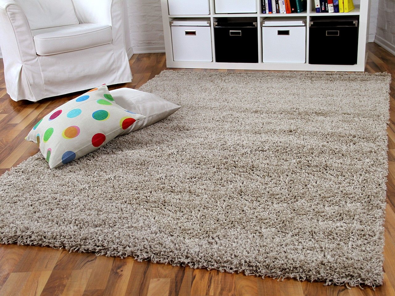 Hochflor Langflor Shaggy Teppich Aloha Beige In 2019