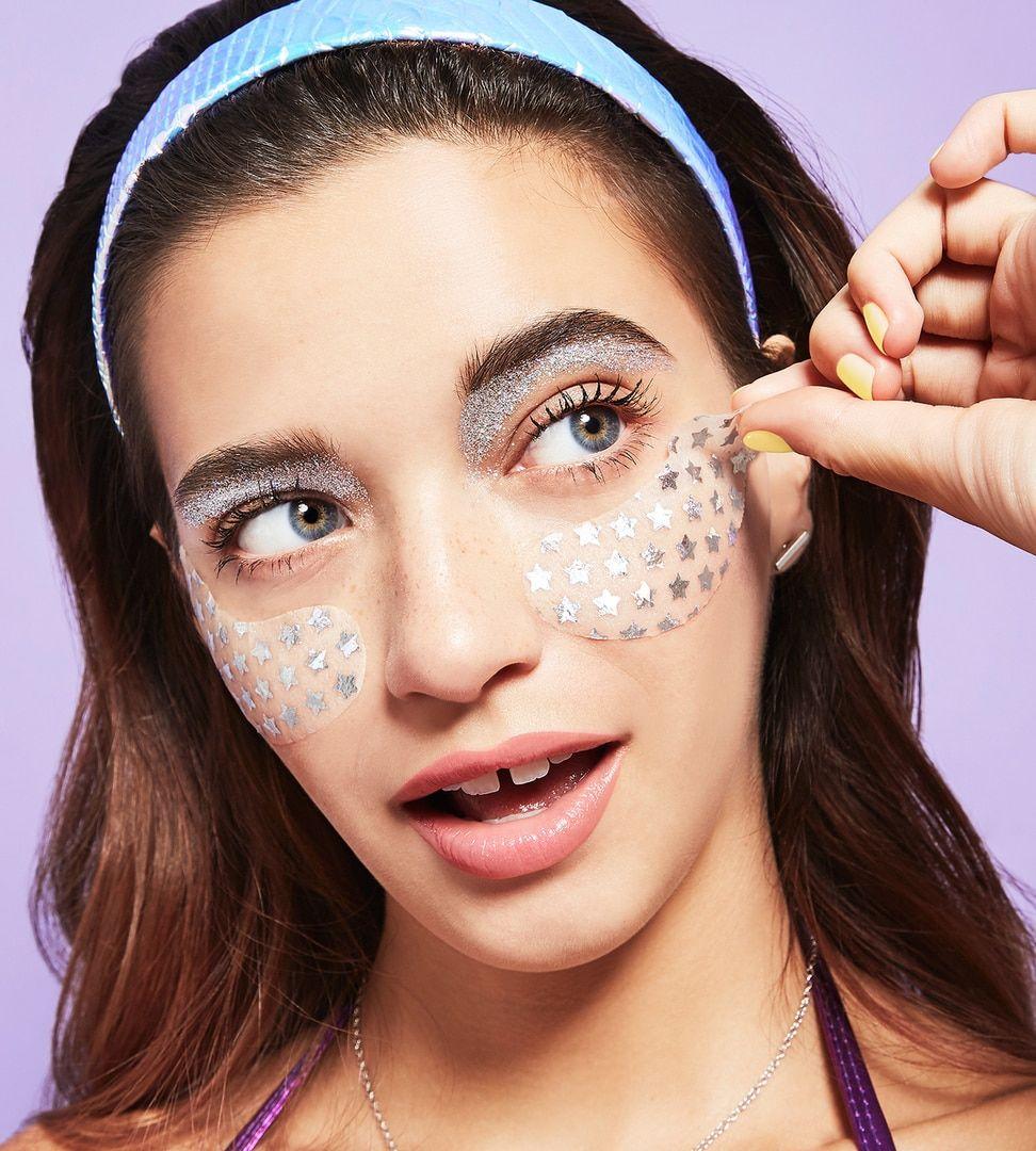 Bliss Eye Got This Holographic Foil Eye Mask Bliss