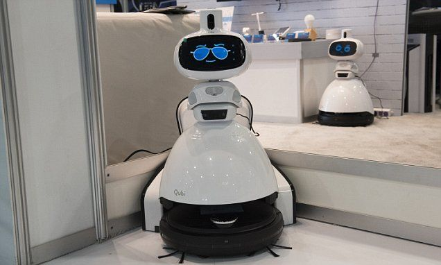 The adorable 'security guard' home robot that doubles as a vacuum