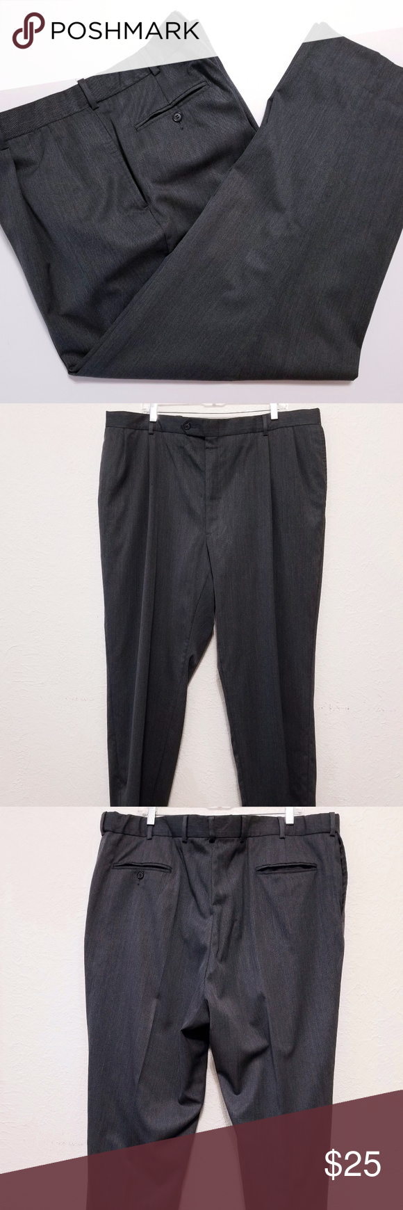 Austin Reed Men S Dress Pants Size 42x29 Gray Austin Reed Men S Dress Pants Size 42x29 Gray Slacks Wool Ble Mens Dress Pants Clothes Design Grey Slacks