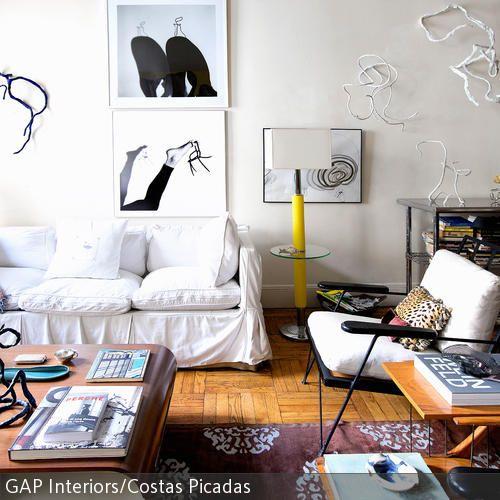 Wohnzimmer im extravaganten Stil Living spaces, Living rooms and - moderne kunst wohnzimmer
