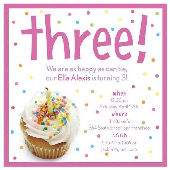 e8309dcf386fc2496da86a3f4db7b5e0 birthday party invitations sprinkle cupcake by andrea westervelt,Cake Decorating Birthday Party Invitations