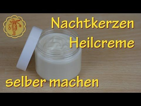 nachtkerzen heilcreme selber machen gegen juckreiz und ekzeme youtube herbarium. Black Bedroom Furniture Sets. Home Design Ideas