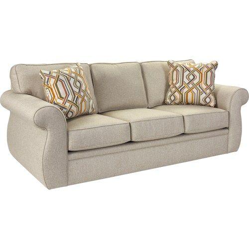 Broyhill Furniture Veronica Traditional Queen Irest Sleeper Sofa