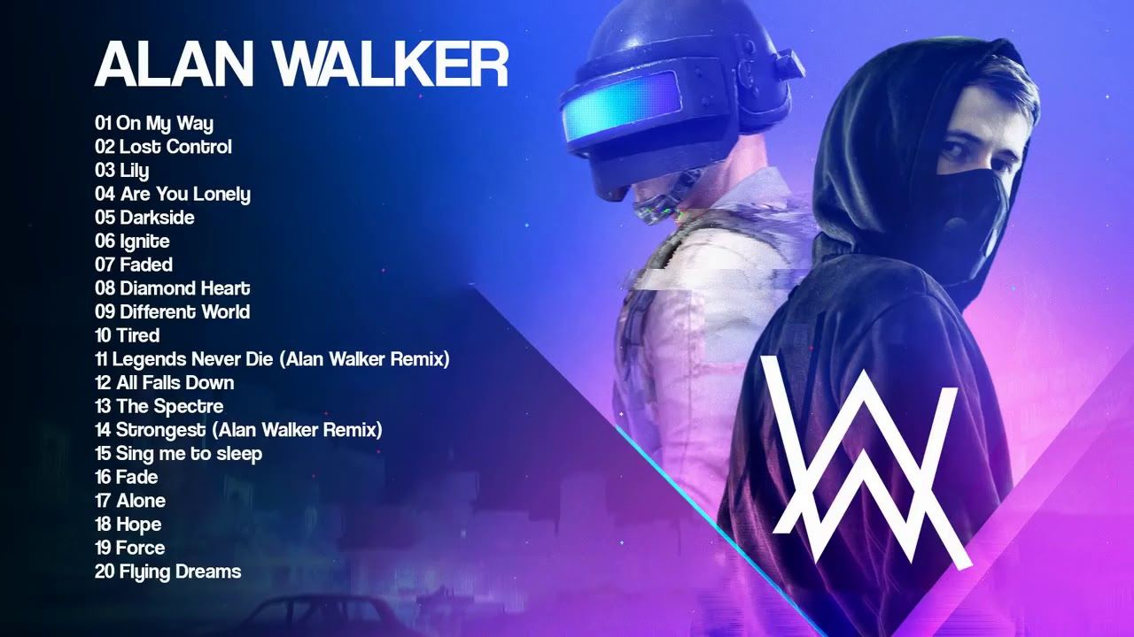 Best Of Alan Walker 2019 Top 20 Best Songs Of Alan Walker Pubg Alan Walker Best Songs Songs
