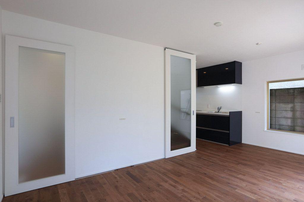 コチラも広々空間 本当に同じお家なのか疑ってしまうレベルです