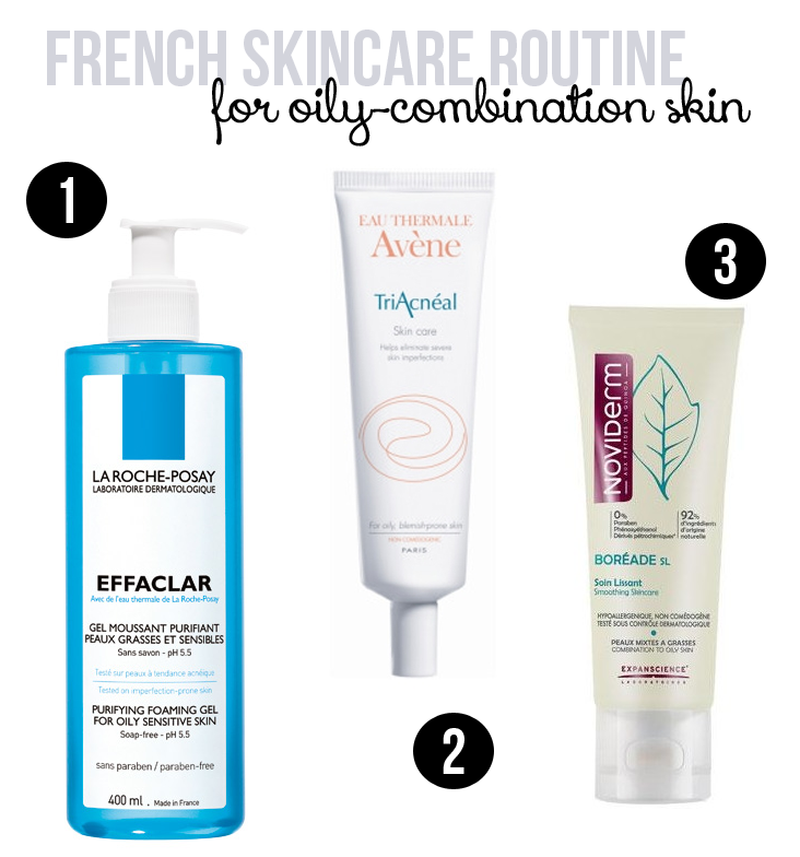 c6c0b5a7449b French Pharmacy Skincare Routine for Oily-Combination Skin. Good news - you  can buy most of these products in America as well!