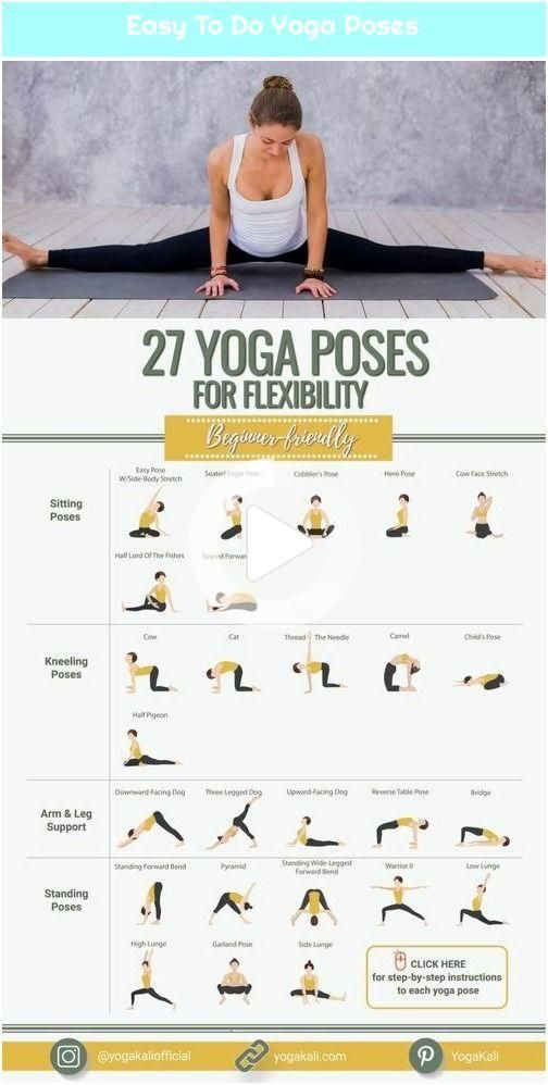 Easy To Do Yoga Poses
