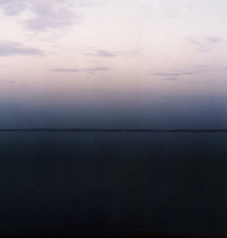 horizon line.