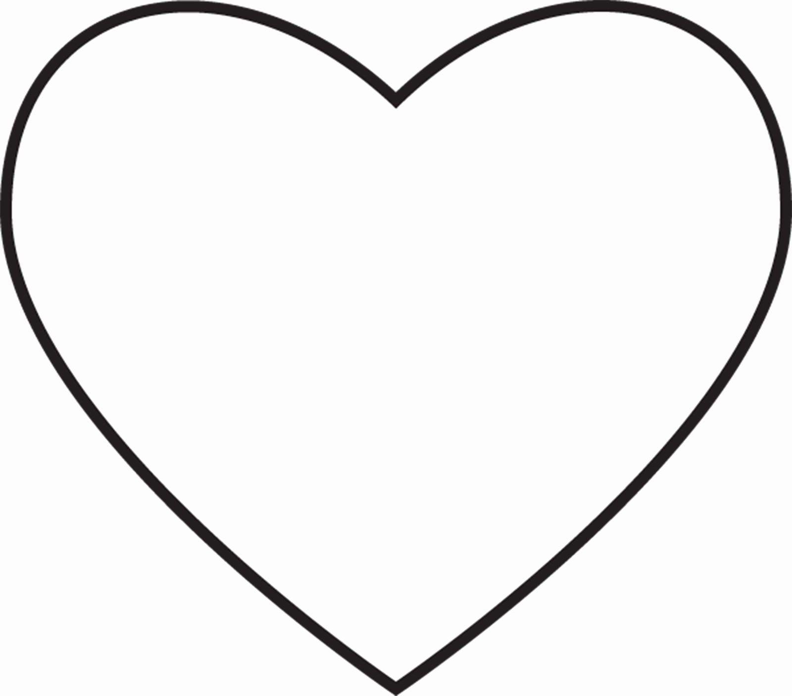 Heart Shape Coloring Page Elegant Heart Shape Coloring