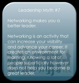 Myth 7 on Networking