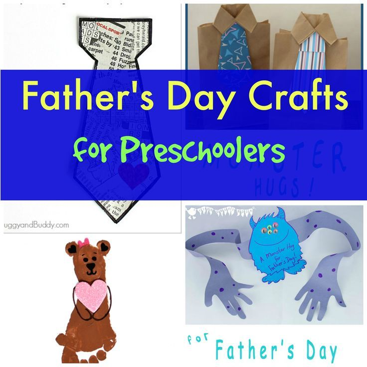 Fathers Day Crafts For Preschoolers Easy And Fun Perfect To Share With Dad