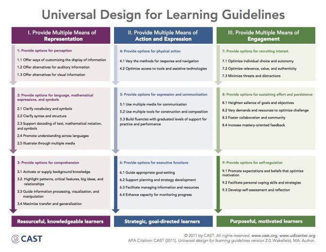 Universal Design For Learning Partners In Miami Co Teaching Lesson - Universal design lesson plan template