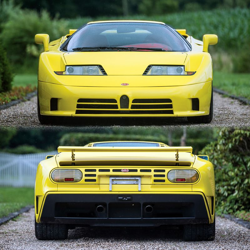 1993 Bugatti EB 110 Super Sport - specifications, photo ...
