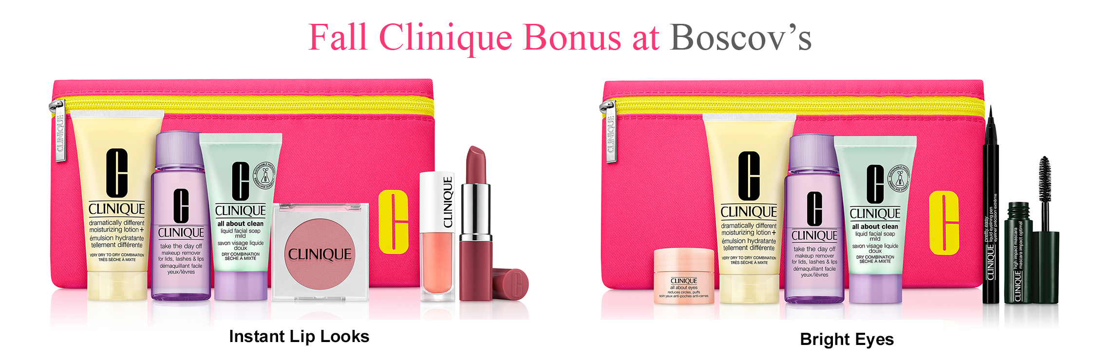 Fall bonus time at Boscov's 2020 in 2020 Clinique gift