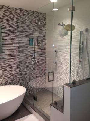 Customization Options For Glass Shower Doors Glass Shower Doors Glass Mirror Bathroom Decor