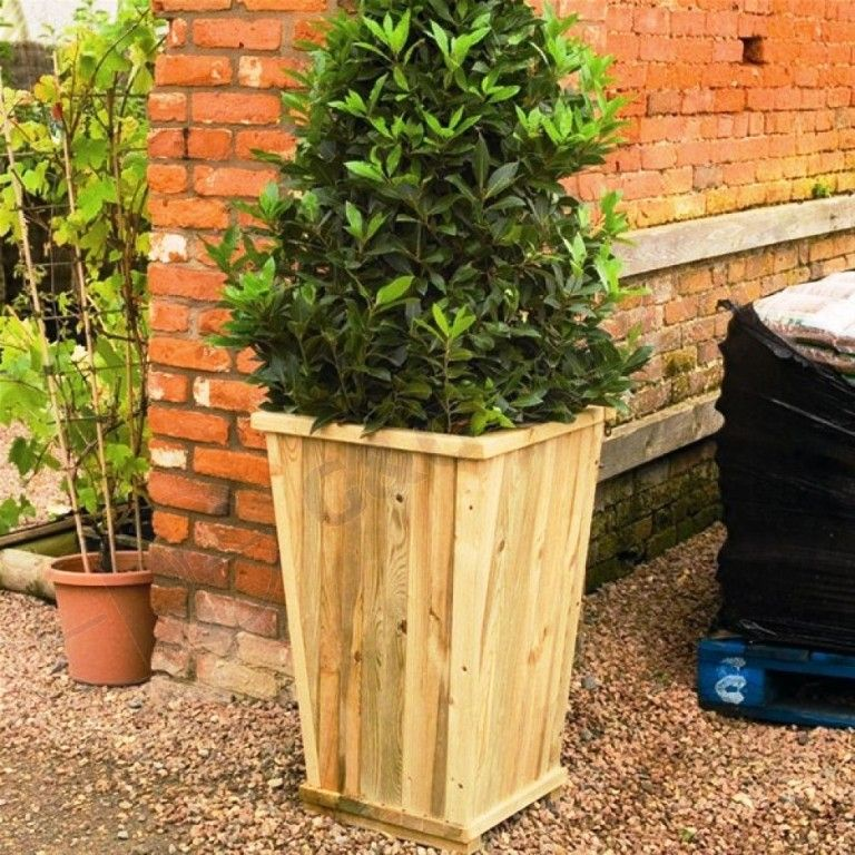 Tall Wood Planter Box Diy Wood Projects To Make Planter Boxes