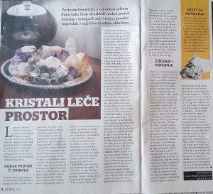 KRISTALI LEČE PROSTOR- magazin Magična zona jul