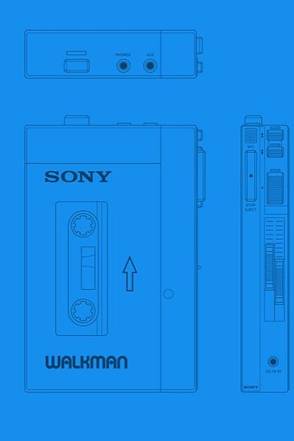 Star lord sony walkman blueprint patterns pinterest star lord sony walkman blueprint malvernweather Image collections