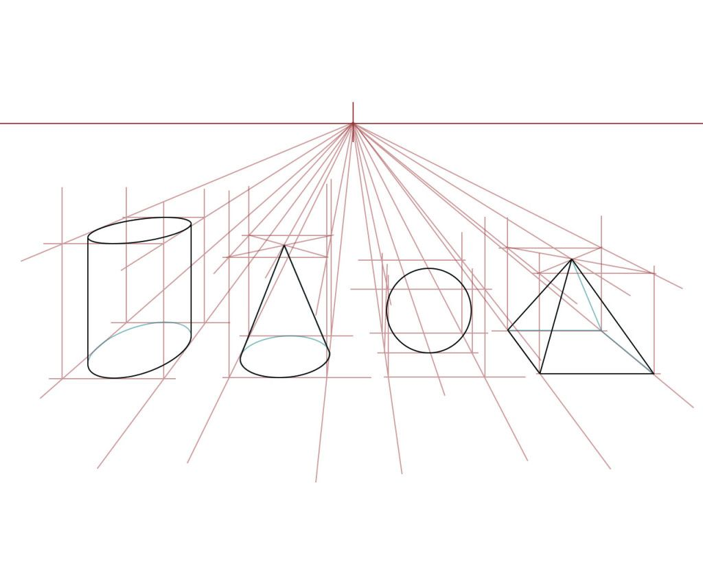 It is a photo of Trust 2 Point Perspective Drawing Tutorial