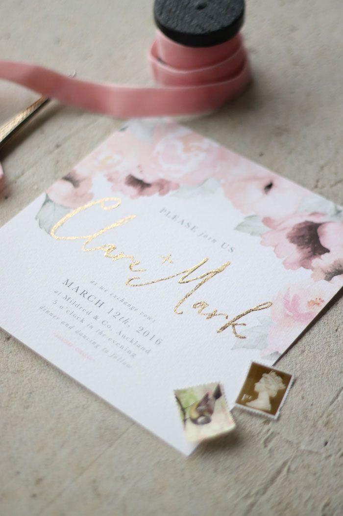 Just My Type Wedding Stationery and Wedding Invitation Design NZ ...
