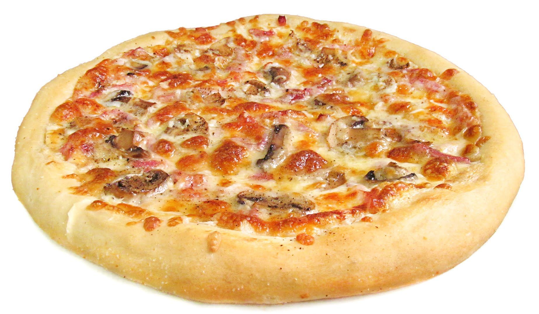 Pizza Carbonara Estilo Telepizza Pizza Carbonara Receta Para Hacer Pizza Comida