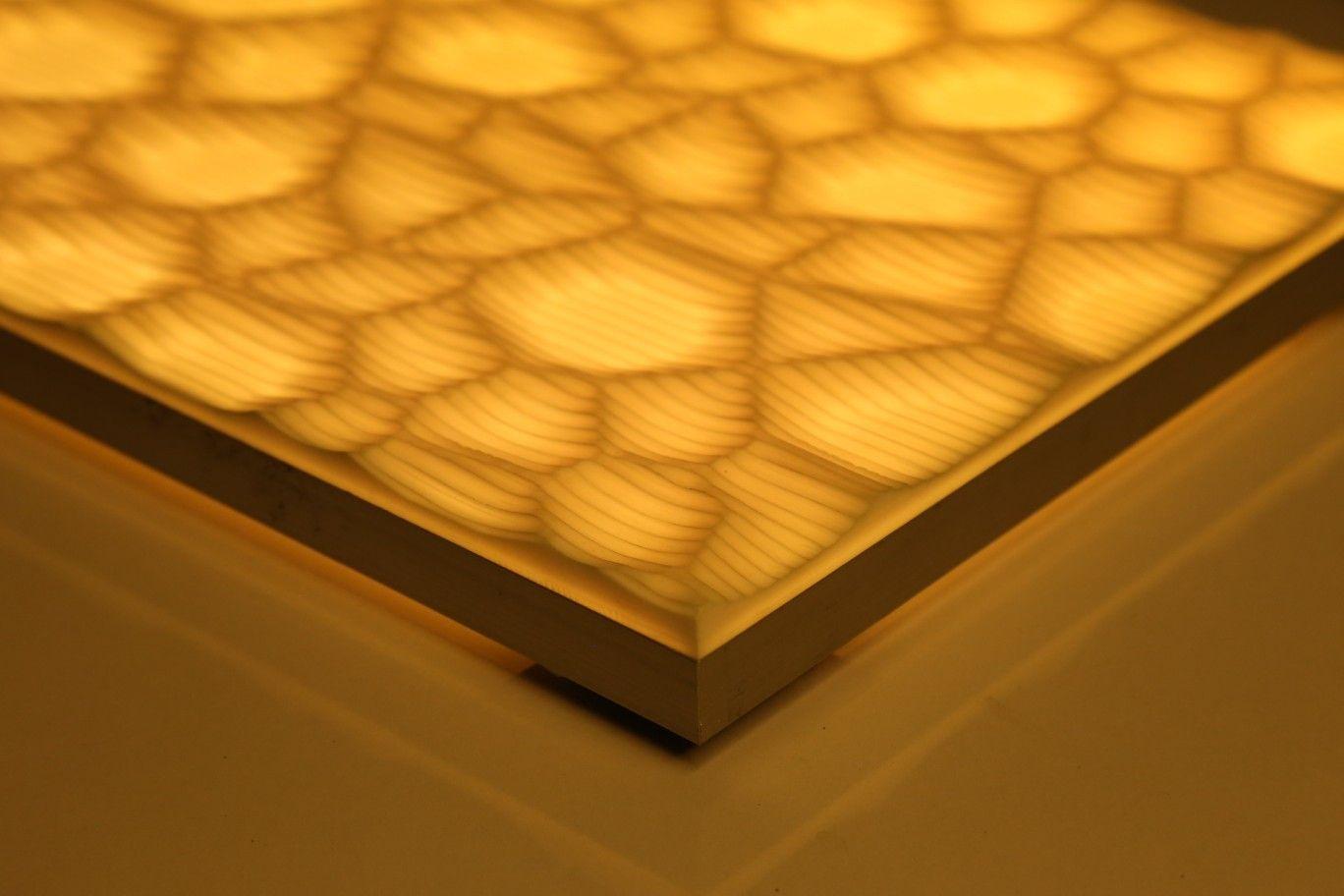 Corian light panel module | ACRYLICORE | Pinterest | Light panel