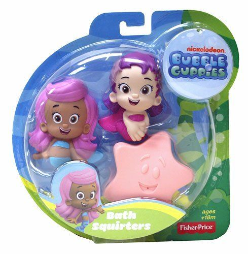 Fisher-Price Nickelodeon Bubble Guppies Molly, Oona, Starfish Bath Squirters by Fisher-Price, http://www.amazon.com/dp/B008HCSE7Y/ref=cm_sw_r_pi_dp_4y2Xrb1WR77MJ