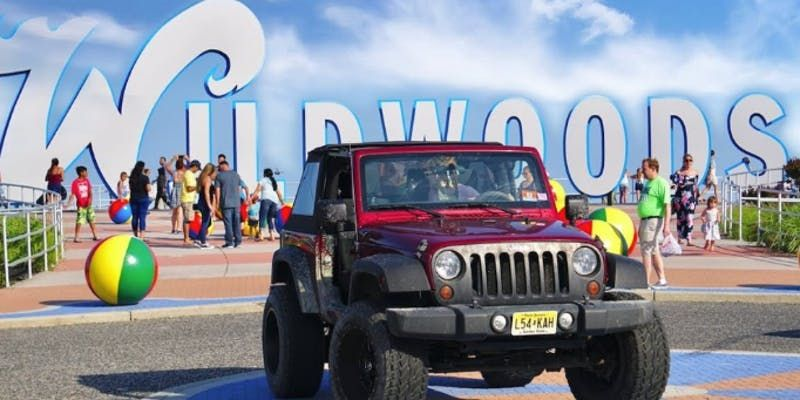 2019 New Jersey Jeep Invasion Wildwood Tickets Fri Jun 14