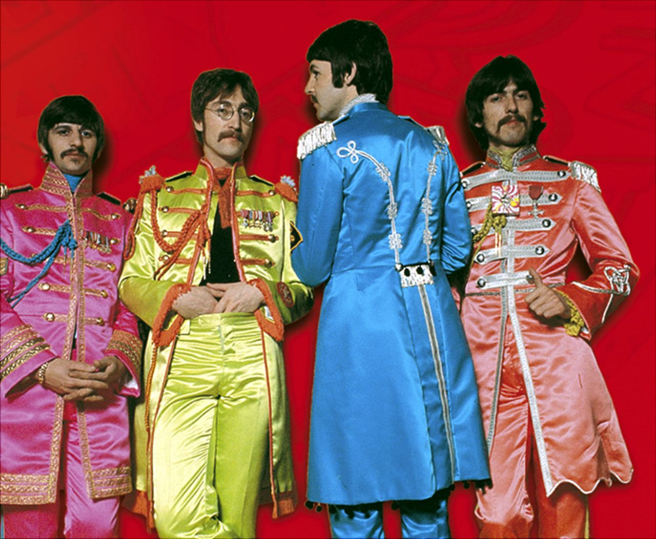 Sgt Pepper S Lonely Hearts Club Band Ringo John Paul George The Beatles Sgt Peppers Lonely Hearts Club Band Beatles Costume