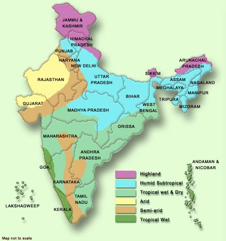 Weather In India Map Climate India 2 | India | India map, Map, Weather in india