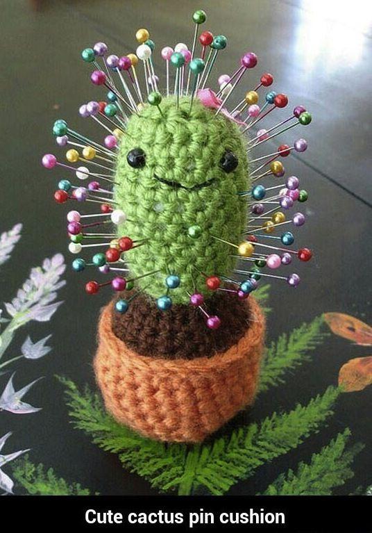 Cool Crochet Cactus Roundup! | Crochet cactus, Crochet, Crochet ... | 767x536