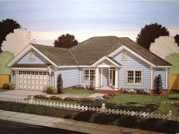 Eplans Craftsman House Plan - Five Bedrooms Under 2000 Square Feet - 1988 Square Feet and 5 Bedrooms(s) from Eplans - House Plan Code HWEPL75069