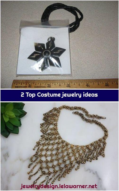 2 Top Costume jewelry ideas 1 Gold Bib Necklace  Boho Fringe Gold Tone Costume Jewelry by VintageInBloom Gold Bib Necklace  Boho Fringe Gold Tone Costume Jewelry by Vinta...