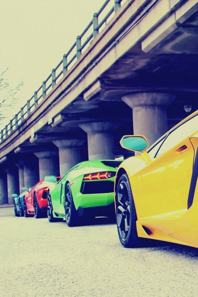 Lamborghini Supercars Mobile Wallpaper Mobiles Wall Com Imagens